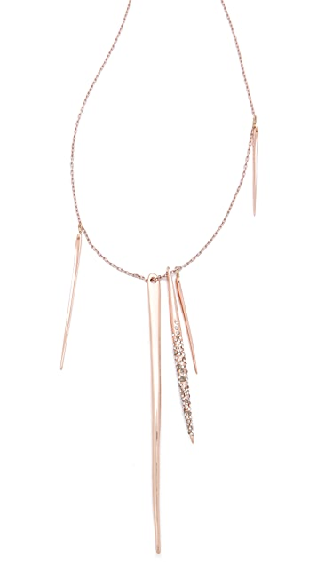 Alexis Bittar Crystal Spear Necklace