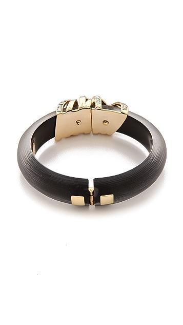 Alexis Bittar Modulor Gold Ribbon Bracelet