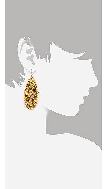 Alexis Bittar Siyabona Woven Earrings