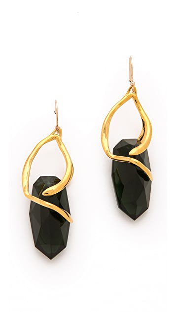 Alexis Bittar Bel Air Suspended Stone Earrings
