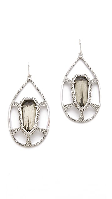 Alexis Bittar Delano Deco Tear Earrings