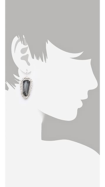 Alexis Bittar Delano Shield Earrings