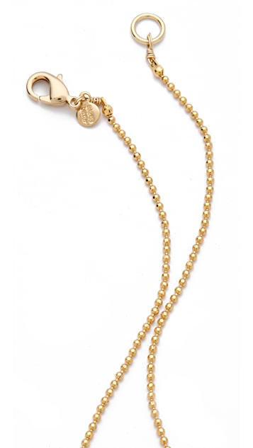 Alexis Bittar Crystal Drop Necklace