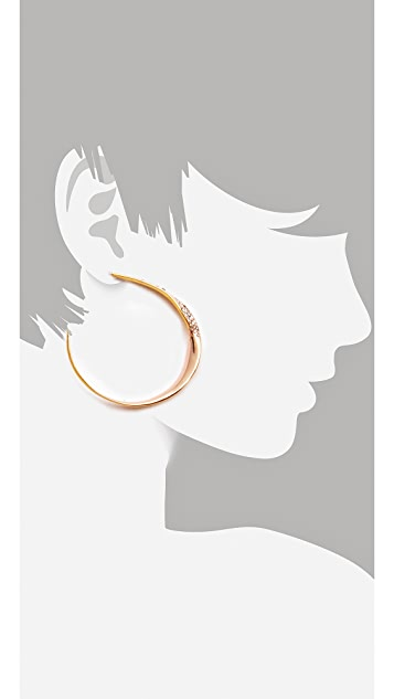 Alexis Bittar Bel Air Twisted Hoops