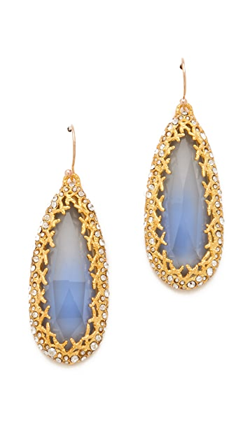 Alexis Bittar Siyabona Cerulean Earrings