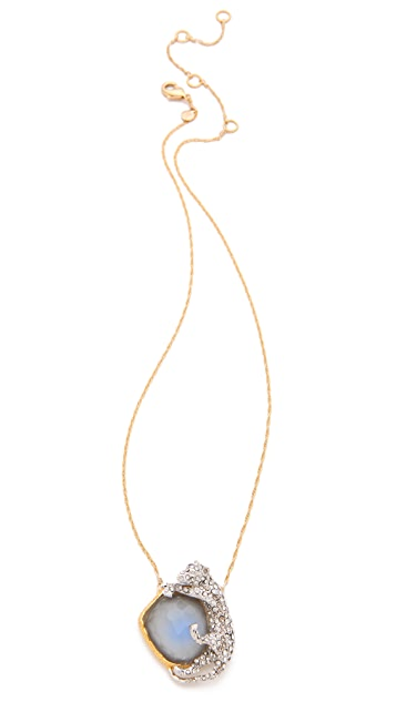 Alexis Bittar Siyabona Panther Necklace