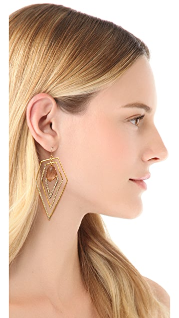 Alexis Bittar New Wave Layered Earrings