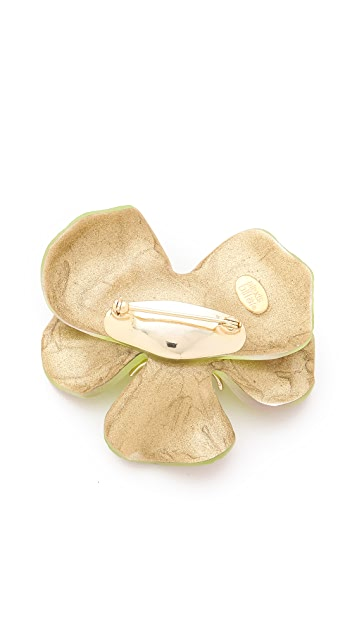 Alexis Bittar Ophelia Pansy Pin
