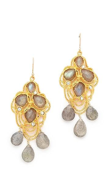 Alexis Bittar Cordova Lace Drop Earrings