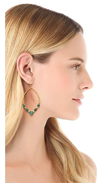 Alexis Bittar Cordova Chrysocolla Tear Earrings