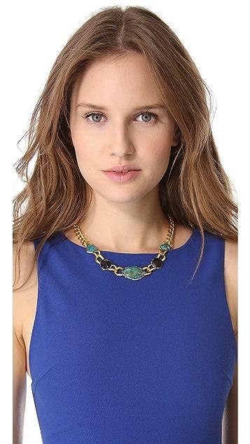 Alexis Bittar Cordova Link Chrysocolla Necklace