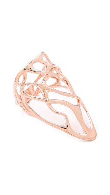 Alexis Bittar Draping Interlaced Ring