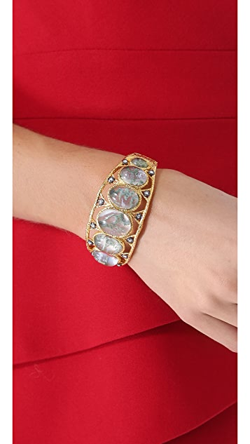 Alexis Bittar Large Graduated Bracelet