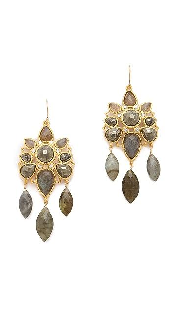 Alexis Bittar Mosaic Wire Earrings