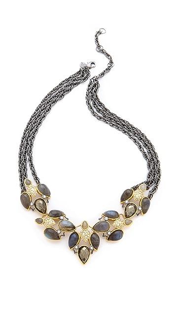 Alexis Bittar Small Cascading Labradorite Necklace