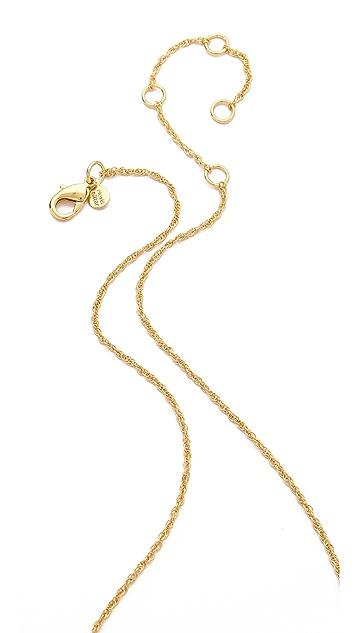 Alexis Bittar Lace Pendant Necklace