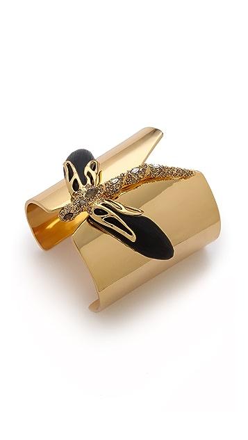 Alexis Bittar Neo Bohemian Dragon Cuff Bracelet