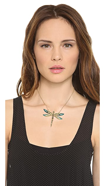 Alexis Bittar Neo Bohemian Dragonfly Necklace