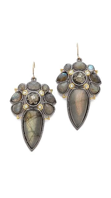 Alexis Bittar Mosaic Wire Labradorite Earrings