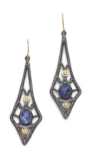 Alexis Bittar Lace Drop Sodalite Earrings
