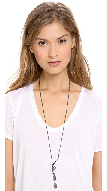 Alexis Bittar Snake Pendant Necklace