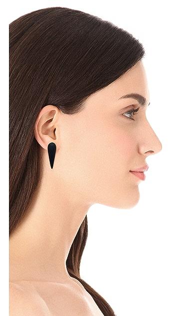Alexis Bittar Lucite Spike Post Earrings