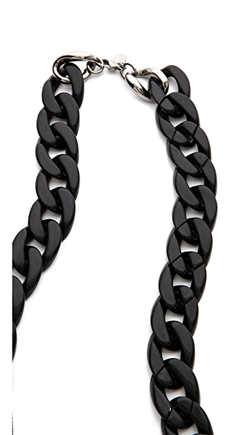 Alexis Bittar Neo Bohemian Pave Link Necklace
