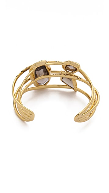 Alexis Bittar Five Ringed Cuff Bracelet