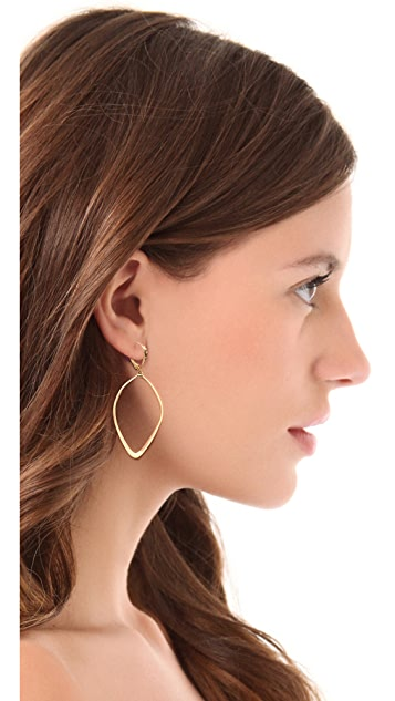 Alexis Bittar Sculpted Aura Teardrop Earrings