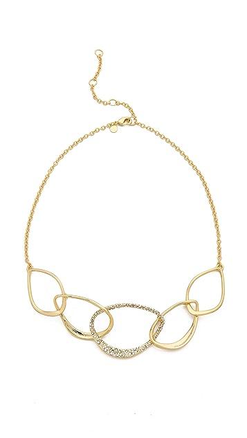 Alexis Bittar Five Link Orbiting Aura Necklace