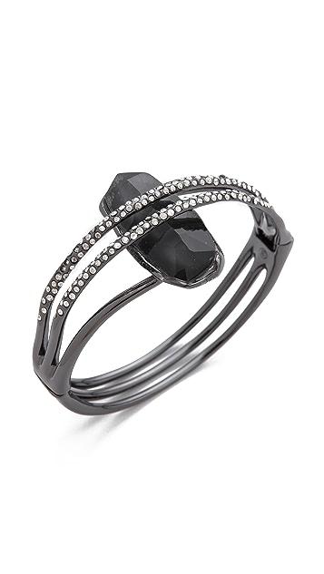 Alexis Bittar Double Ringed Hinge Bracelet