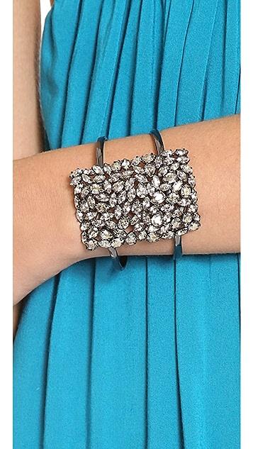 Alexis Bittar Pavo Large Moonlight Cuff Bracelet