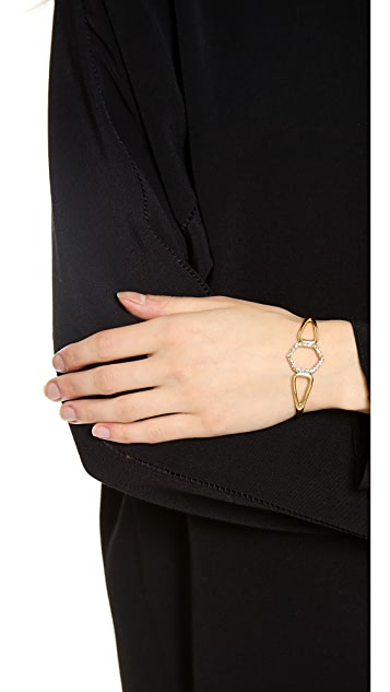 Alexis Bittar Hexagon Cuff Bracelet
