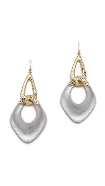 Alexis Bittar Antibes Liquid Link Dangle Earrings
