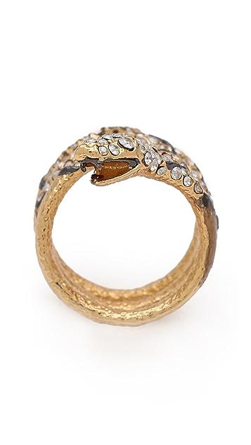 Alexis Bittar Mosaic Diamondback Snake Ring