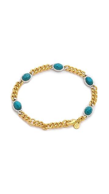 Alexis Bittar Mosaic Chain Link Bracelet