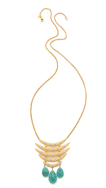 Alexis Bittar Mosaic Tiered Pendant Necklace