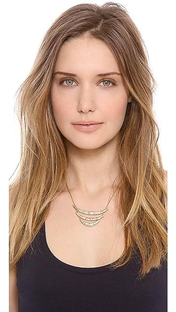 Alexis Bittar Mosaic Crystal Pendant Necklace