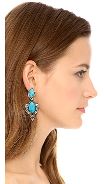Alexis Bittar Olmeca Doublet Earrings