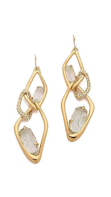 Alexis Bittar Infinity Cutout Link Earrings