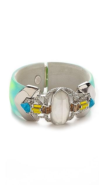 Alexis Bittar Hand Stenciled Hinge Bracelet