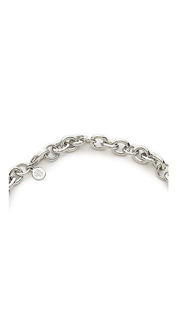 Alexis Bittar Liquid Metal 5 Link Necklace