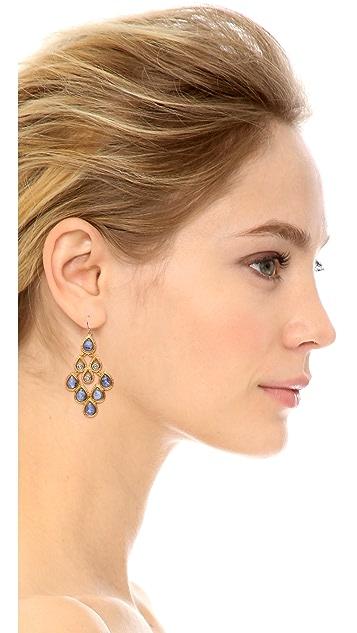 Alexis Bittar Scalloped Chandelier Earrings