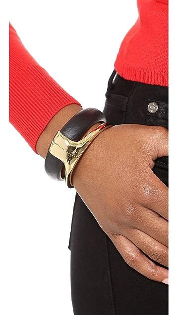 Alexis Bittar Liquid Stacked Hinge Bracelet