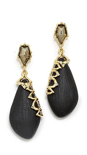 Alexis Bittar Georgian Lace Dangling Earrings