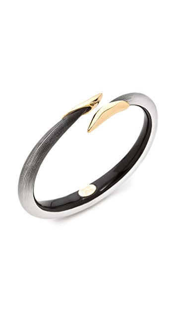 Alexis Bittar Liquid Metal Tapered Bangle Bracelet