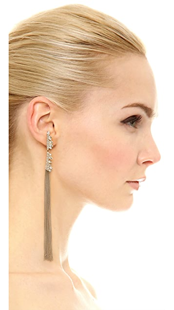 Alexis Bittar Tassel Jagged Marquis Earrings