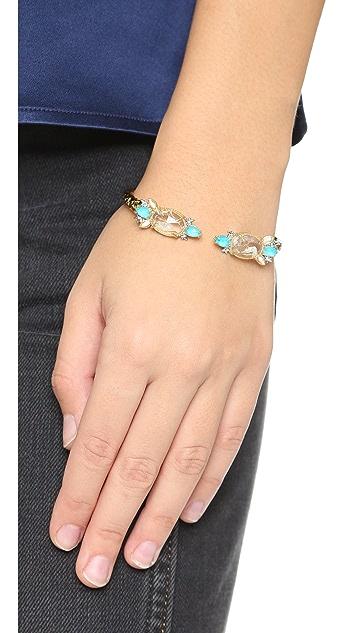 Alexis Bittar Spiked Crystal Bracelet