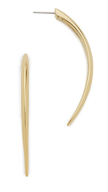 Alexis Bittar Elongated Spike Earrings