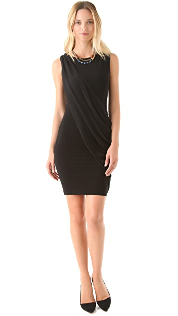 AIR by alice + olivia Crossover Drape Dress
